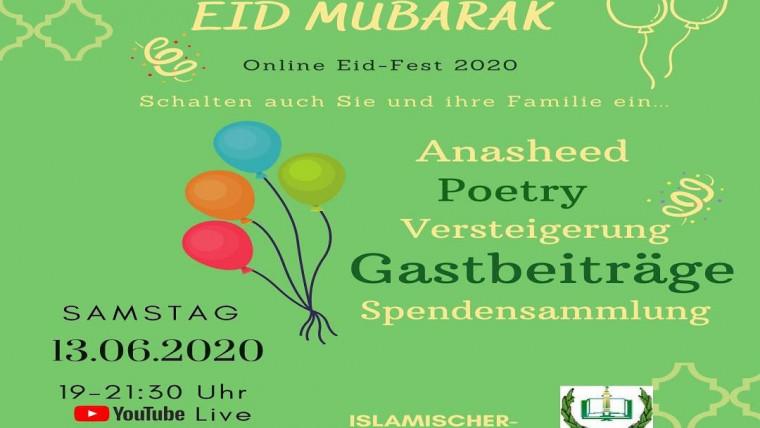 Wir feiern onlineحفل العيد عبر النت